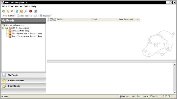 News Interceptor(国外RSS阅读器) V3.01