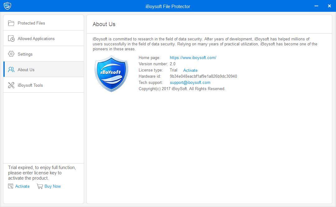 iBoysoft File Protector