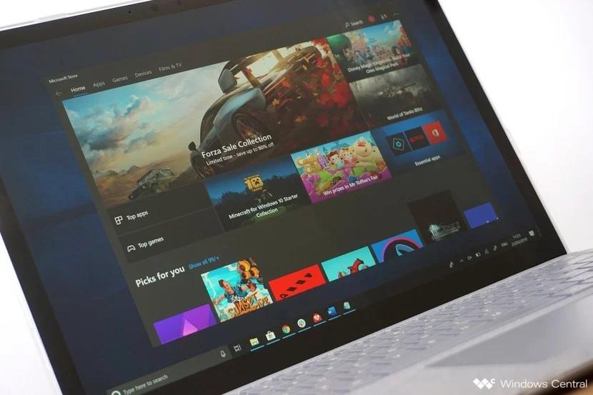 WindowsCentral报道Window10系统2021将支持原生运行安卓APP