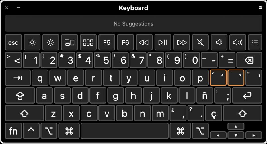 """怎么在Mac上使用""""虚拟键盘"""""""
