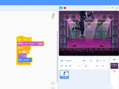 Scratch如何操作人物舞动?用Scratch制作人物跳舞动画的技巧